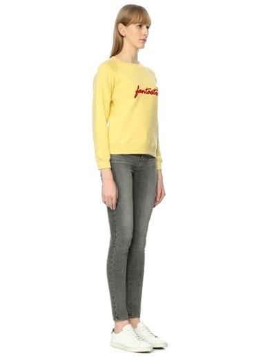Alexa Chung for AG Sweatshirt Sarı